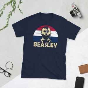 Navy DaMarcus Beasley USA T-shirt