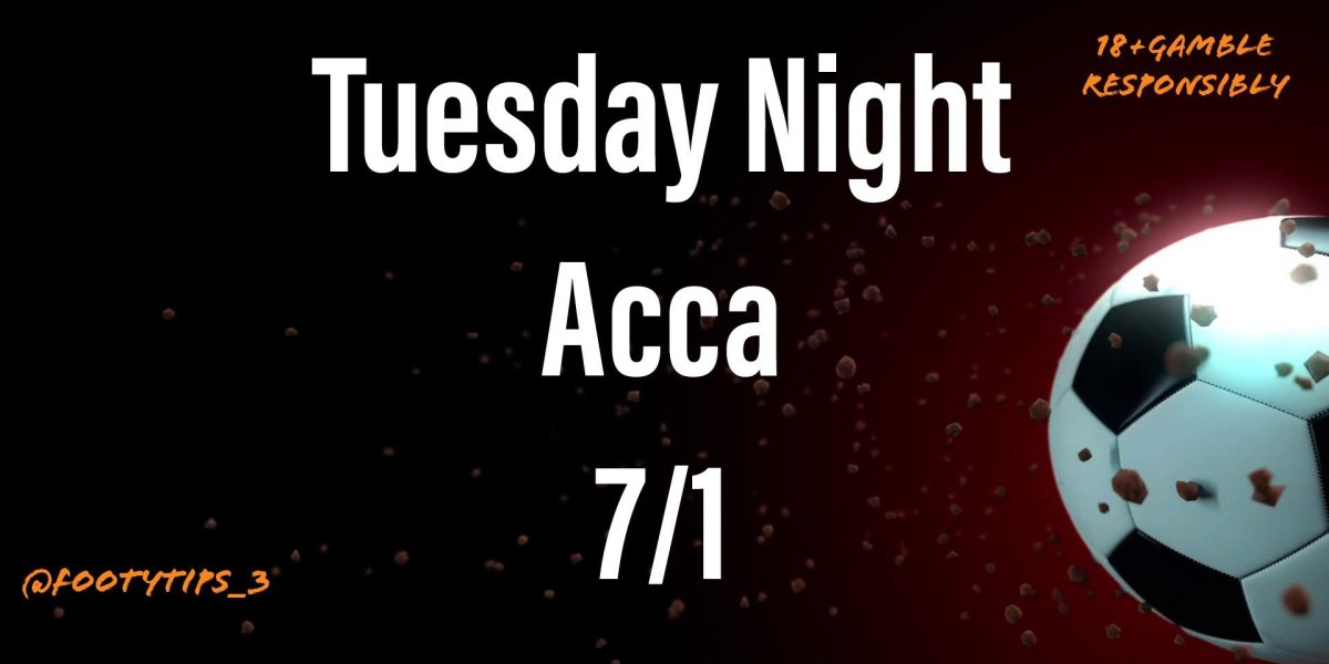 An excellent 5 fold football accumulator tip for Tuesday 23rd June. With odds coming in at 7/1.