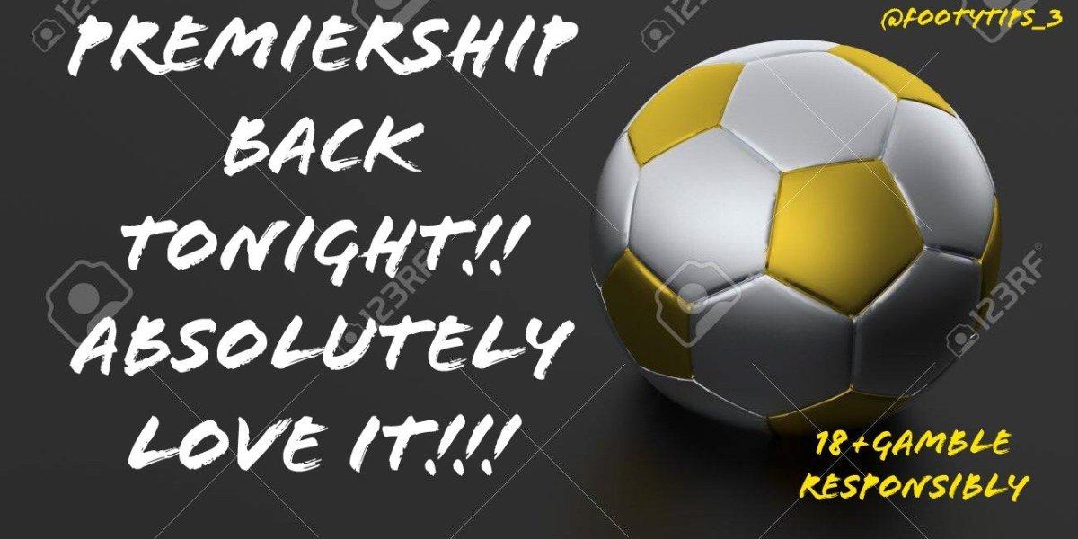 Premiership back tonight after lockdown 17/06/20