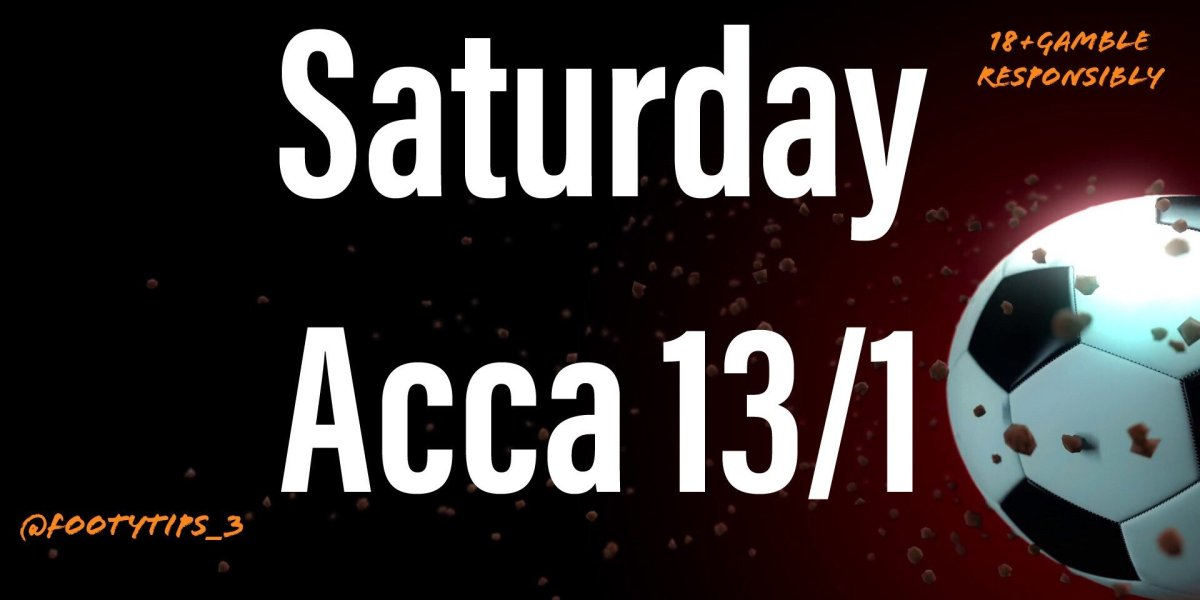 Football Acca Tip at 13/1 for Saturday 20th June. An absolute beaut the way results are going.
