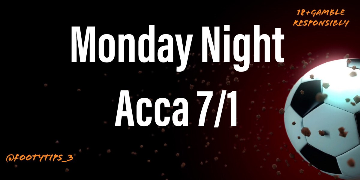 What a cracker bet I have dug out for a Monday Night with odds coming in at 7/1.