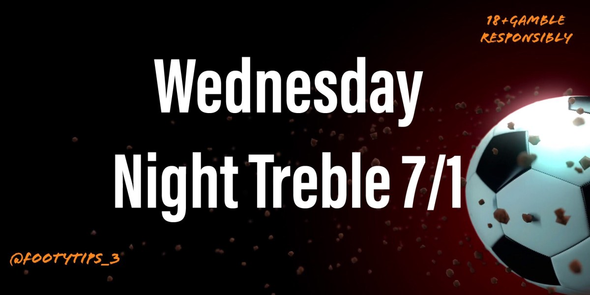 I'm back after a month off. Here is treble selection football tip for Wednesday 12th August. Let's get the ball rolling again.