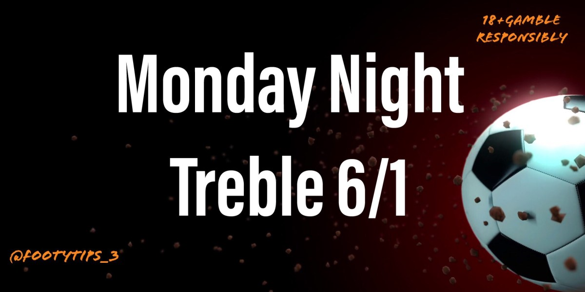 Football treble tip with odds coming in at 6/1 for Monday 5th October.