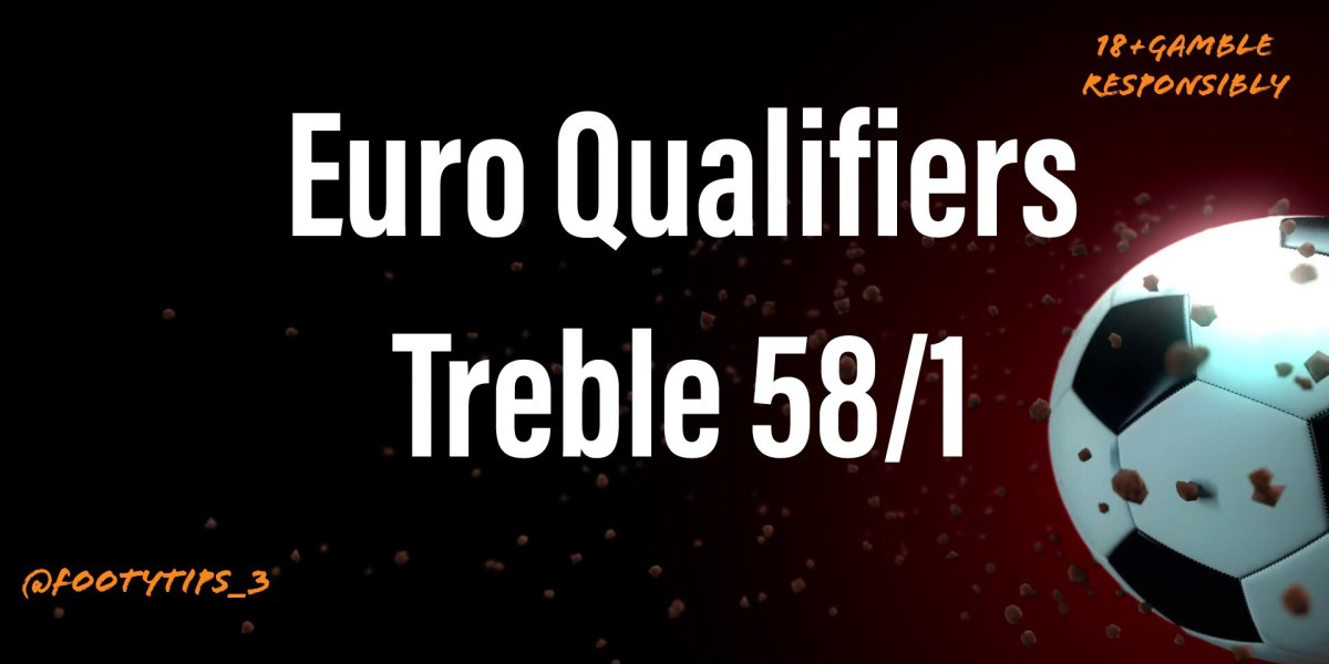 Euro Qualifiers treble football tip for Thursday 12th November with odds coming in at a staggering 58/1.