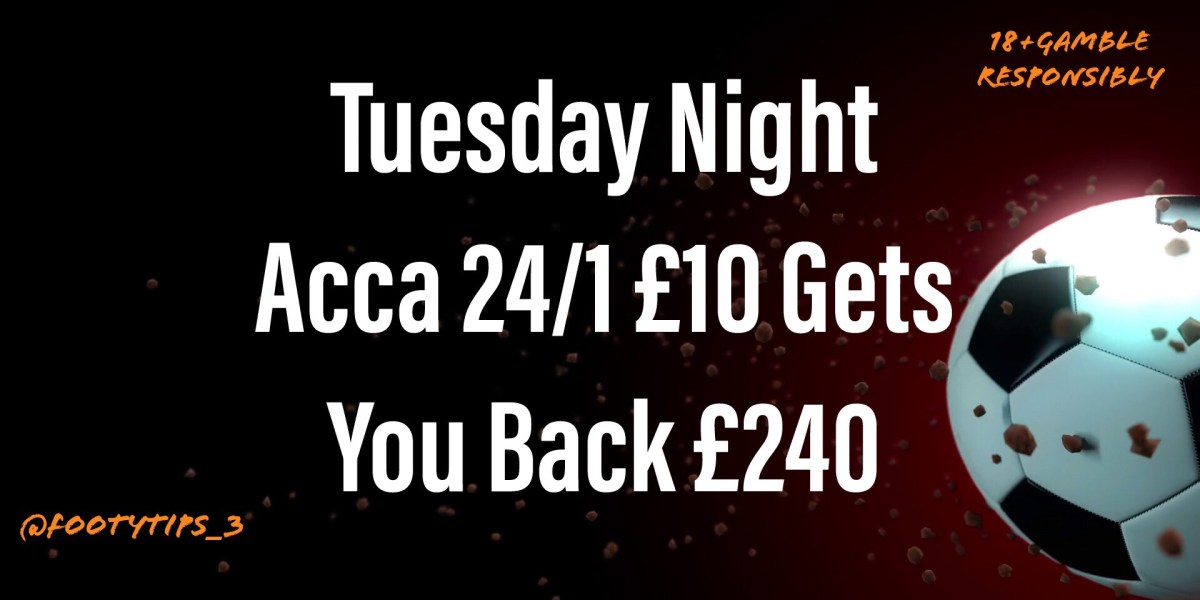 Football Tip For Tuesday 3rd November with great odds coming in at 24/1.
