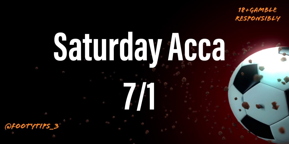 Saturday footballtip for 13th February with odds coming in at 7/1.