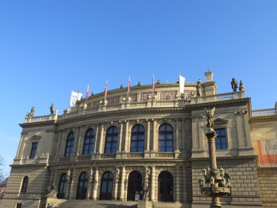 Rudolfonium, music auditorium and art gallery