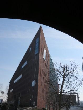 Prague's own Flat Iron building.