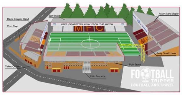 Fir Park Motherwell Seating Plan