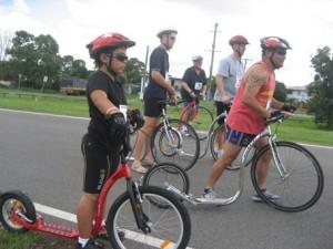 Men's Footbike Race