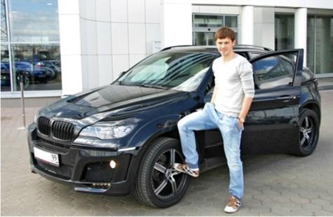 Билялетдинов и его машина