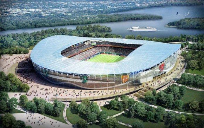 Стадион в Казани к ЧМ 2018