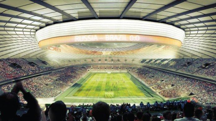 Стадион Лужники в Москве Чемпионат мира 2018