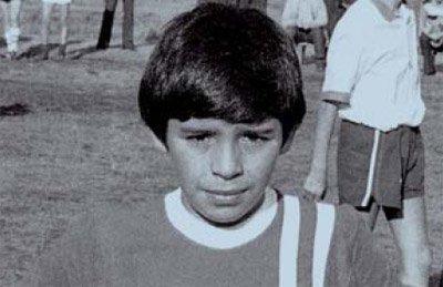 Марадона в детстве