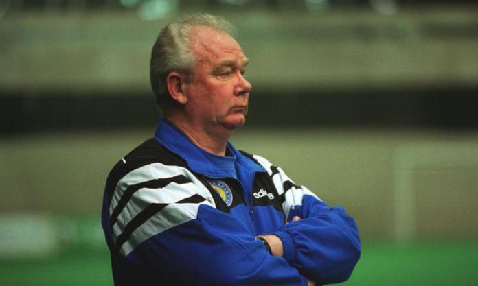 Тренер Лобановский Валерий
