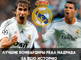 Лучшие бомбардир ФК Реал Мадрид