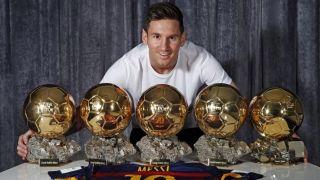Месси с наградами лучшего футболиста