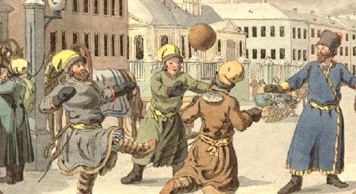 футбол в древней Руси