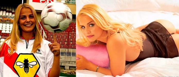 Милена Домингес - фото футболистки