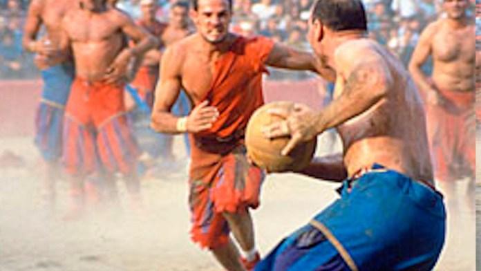 Футбол в древнем Риме