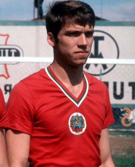 Христо Бонев - фото болгарского футболиста