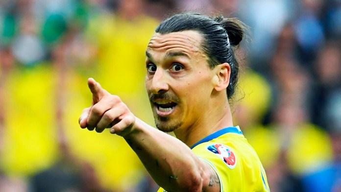 Самый известный шведский футболист Златан Ибрагимович фото