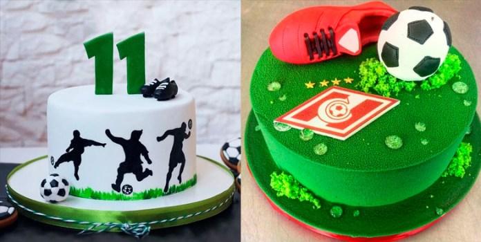 Футбольные торты на день рождения