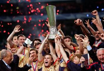 ЦСКА выиграл кубок УЕФА