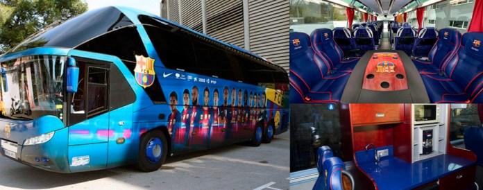 Автобус ФК Барселона