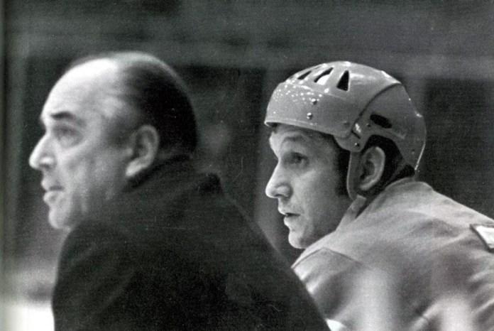Аркадий Чернышев хоккеист