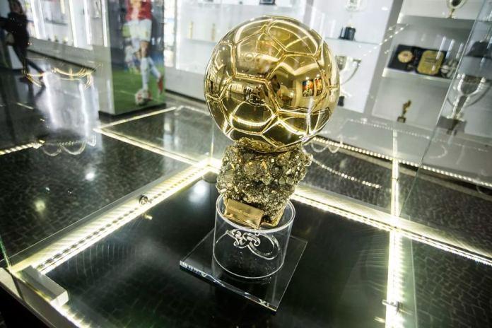 Золотой мяч в музее