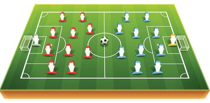 Количество игроков на футбольном поле