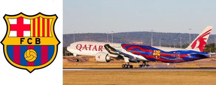 Самолет Барселоны