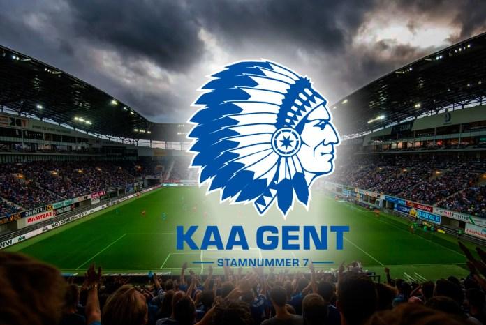 ФК Гент логотип эмблемы