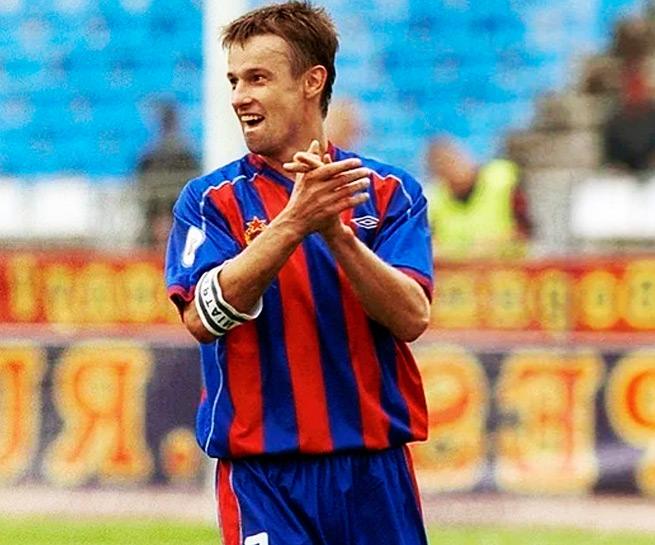 Сергей Семак фото в форме ЦСКА
