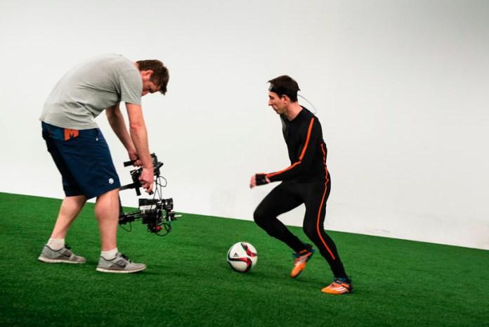 Передвижение Месси в футболе