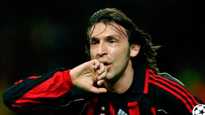 Андреа Пирло в Милане футболист фото