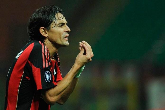 Филлипо Индзаги игрок в Милане