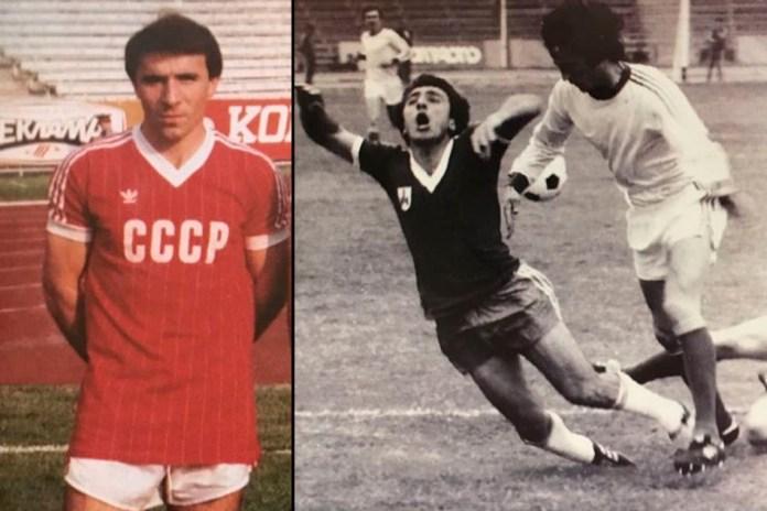 Искандер Джавадов фото футболиста в молодости