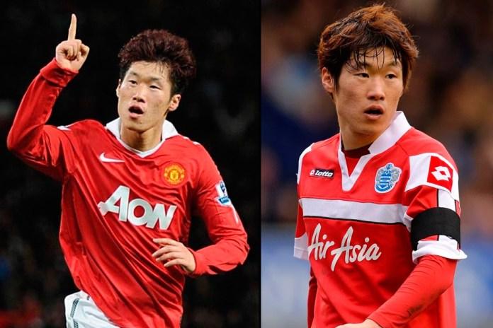 Пак Джи Сун фото футболиста в МЮ