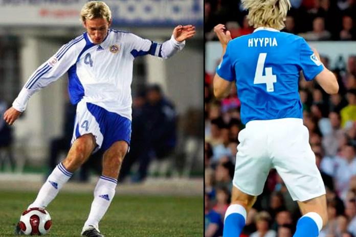 Сами Хююпия популярный финский футболист