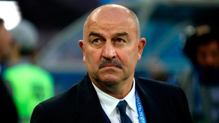 Станислав Черчесов тренер сборной России по футболу