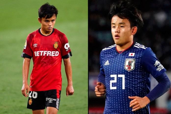 Такефусо Кубо перспективный футболист Японии