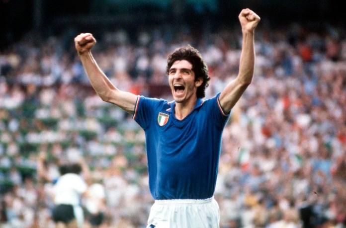 Паоло Росси фото нападающего сборной Италии