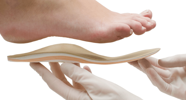 Dr. Shier can fit your foot for orthotics