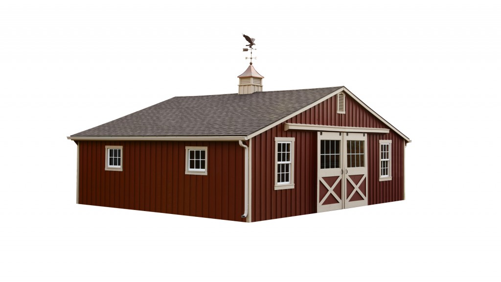 Amish Built Sheds Of Low Profile Barn Amish Sheds From Bob Foote