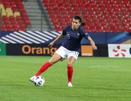Kenza Dali sous le maillot de l'équipe de France