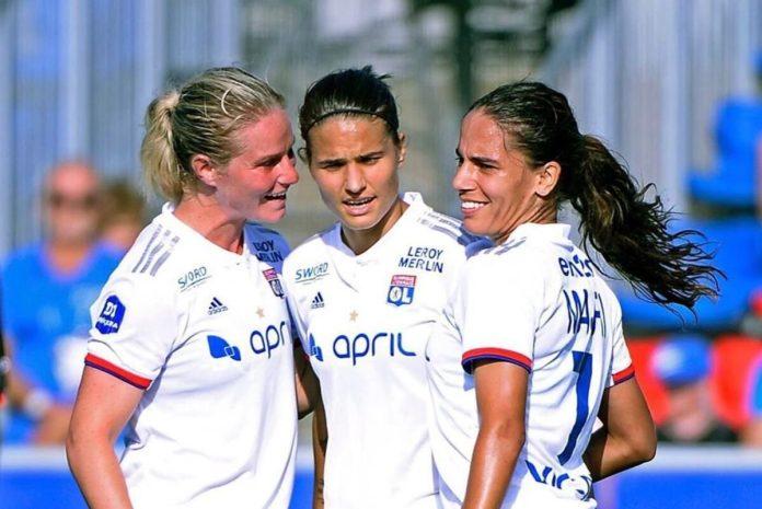 Lyon gagne au Havre et prend la tête du championnat de France féminin.