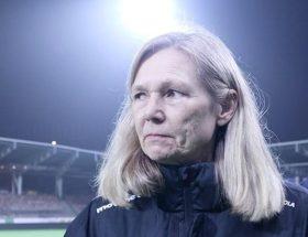 Anna Signeul, actuelle sélectionneuse de la Finlande, retrouvait l'Écosse mardi, un pays qu'elle a entraîné pendant treize années.
