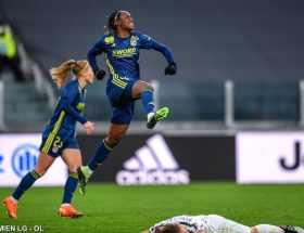Melvine Malard a été décisive dans le succès de Lyon contre la Juventus en Ligue des champions.